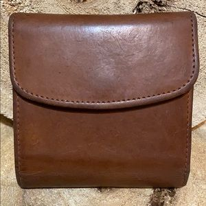 COACH Vintage bifold kiss-lock wallet
